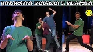Melhores risadas e reações no palco do Improvável - Parte 1