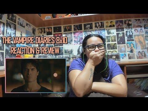 "The Vampire Diaries 8x10 REACTION & REVIEW ""Nostalgia's A Bitch"" S08E10 | JuliDG"