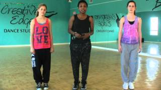 Hip Hop Move Tutorial - Side Shuffle Step