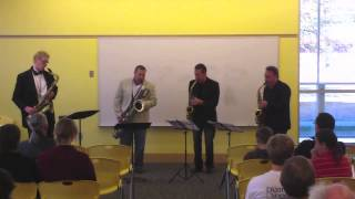 Love for Sale, performed by the Hard-Bop Sax Quartet
