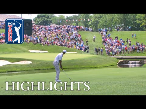 Tiger Woods' Highlights  Round 1  The Memorial
