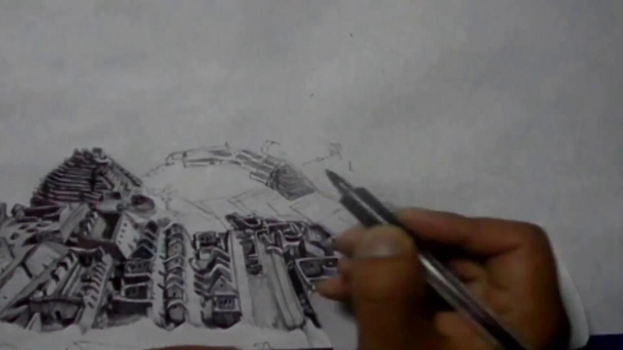 Dibujo De Machu Picchu Condor Pasa Drawing Machu Picchu Youtube