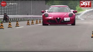 ALFA-ROMEO 4C vs LOTUS Exige S Roadster.