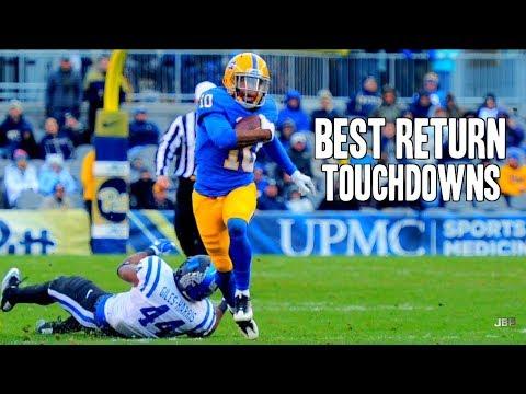 Best Kick/Punt Return Touchdowns of the 2016-17 College Football Season || Part 2 ᴴᴰ