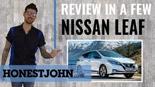 Car review in a few | Nissan Leaf 2018 - literally going further than the last one