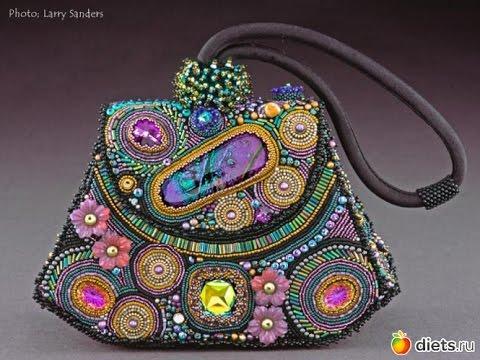 0edb22645391 Волшебные сумочки из бисера - YouTube