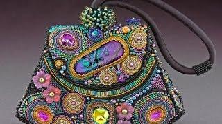 Волшебные сумочки из бисера