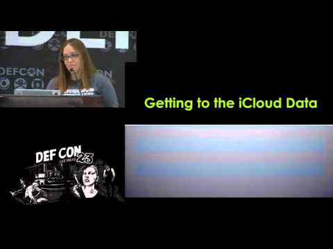 DEF CON 23 - Sarah Edwards - Ubiquity Forensics: Your iCloud and You
