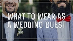 What to Wear to a Wedding As A Guest - DO's & DON'Ts for Proper Attire + Outfit Suggestions For Men