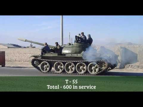 Power of Afghanistan Army Equipments
