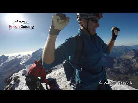 How is it to climb down the Matterhorn?