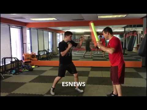 Future Champ Arturo Marquez - esnews boxing