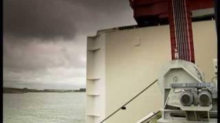 Sluiting Maeslantkering Nieuwe Waterweg