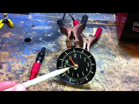 Fix Or Repair Your Classic Car Clock (Part 1)