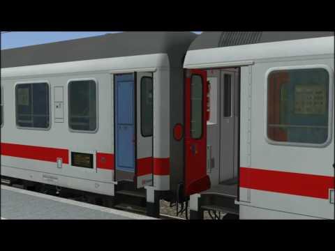 IC Drehfalttüren Animation in Eisenbahn.exe Professional