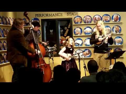 EmiSunshine live 12/26/13 on the WDVX Blue Plate Special, Knoxville, TN