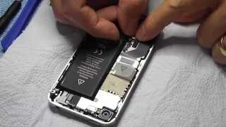 Apple Iphone 4 & 4S BATTERY REPLACEMENT. Step by step full guide.