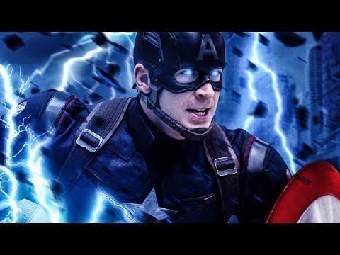 Agora sabemos o porque o Capitão não conseguiu levantar o Mjolnir em Era De Ultron