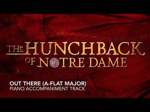Out There (Ab Major) - The Hunchback of Notre Dame - Piano Accompaniment/Karaoke Track