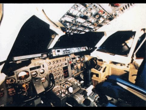 AirUK BAe 146 Flight Deck video