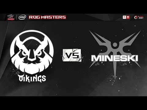 Vikings vs Mineski - ROG Master 2017 Asia Pacific