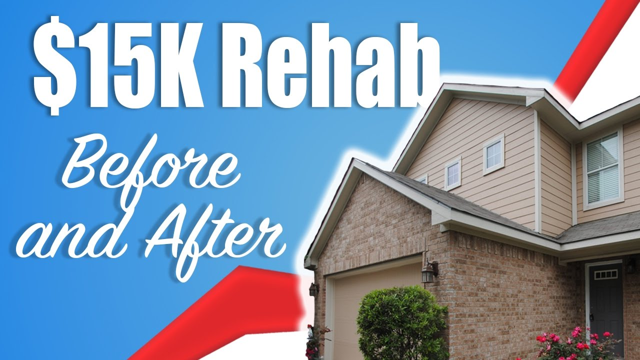 House Rehab 15k Repair Costs Before And After