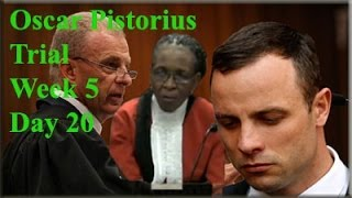 Repeat youtube video Oscar Pistorius Trial: Thursday 10 April 2014, Session 1
