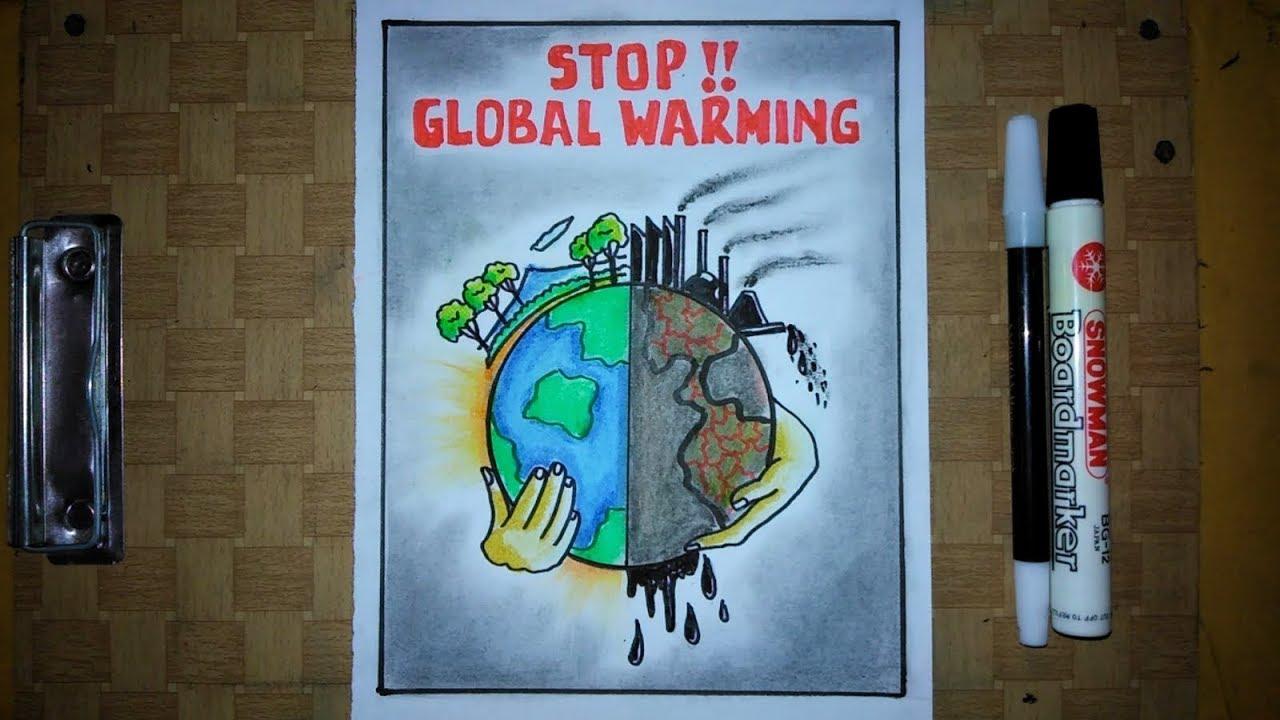 32+ Poster yang berisi gagasan penanggulangan pemanasan global yang mudah info