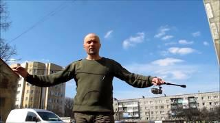 Спиннинг от Дмитрия Романова