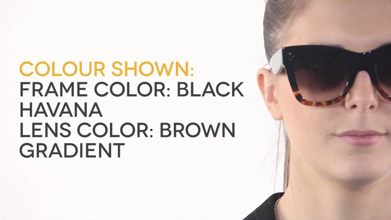 3e505734a88 Celine CL 41090 S Catherine Sunglasses Review