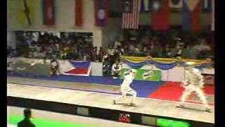 SEA-Games 2007 Final Fight Sabre Team Part 2