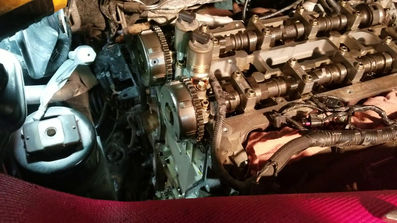 2011-2017 Land Rover Evoque 2 0 VVT and timing chain replacement