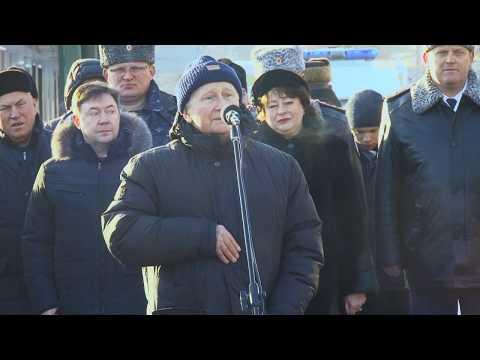 Открытие памятника конструктору-оружейнику Макарову Н.Ф.