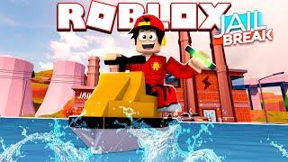 ROBLOX - POWER PLANT ROBBERY WITH MY JET SKI!!