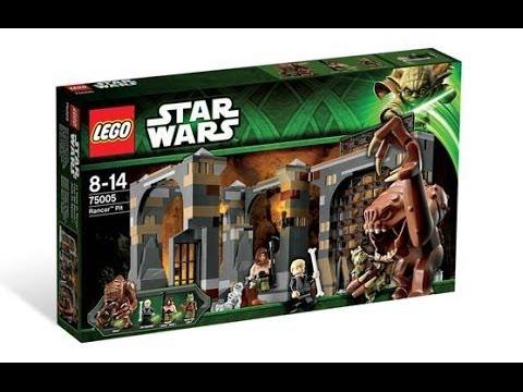 Youtube Lego Wars Star Pit Rancor Review 9D2eYWEHIb