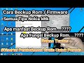 - Cara Beckup ROM / FIRMWARE ALL Nokia MTK Menggunakan Miracle Cracked