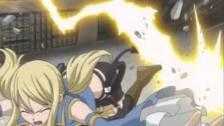 Natsu vs  Taurus   Lucy, Yukino and Levy vs  Virgo