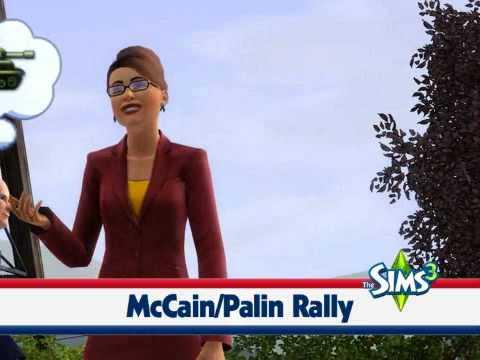 The Sims 3 - Sarah Palin dancing