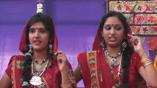Indian Rajasthani Folk Group Song 07 || National Level Bharat Vikas Parishad Gujarat