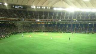 2010.3.17 オープン戦 高橋由伸選手応援歌 8番ファーストでのスタメン...