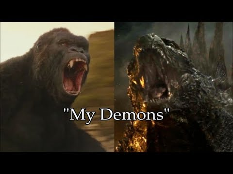 MMV Godzilla and King Kong  My Demons 9,000 subscribers