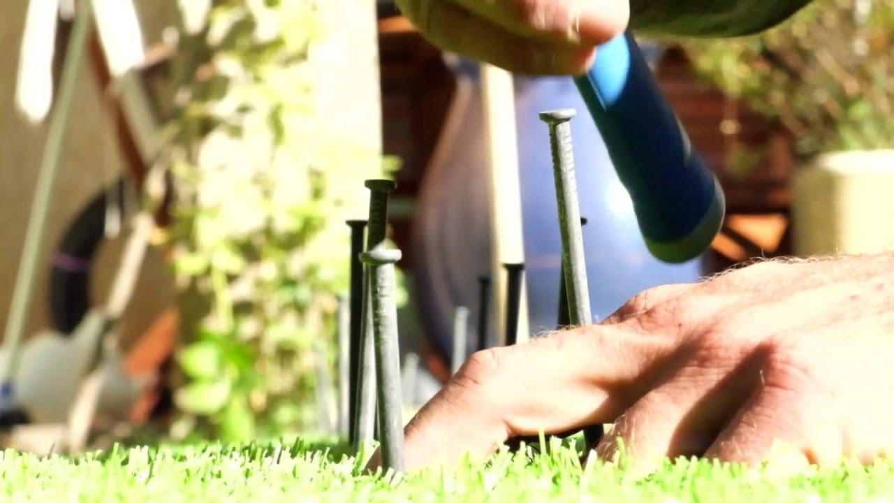 Poser Votre Gazon Green Touch