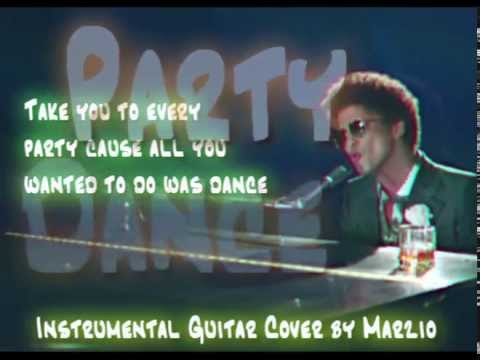 When I Was Your Man (Bruno Mars) - Marzio Guitar Cover (Instrumental & Lyrics)