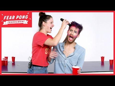 Fear Pong Tournament, Round 1 (Curtis vs. Breanna) | Fear Pong | Cut