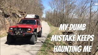 Overland Adventure - My Dumb Mistake Still Haunts Me & Camping In VA & WV Forests - Jeep SUV Camping