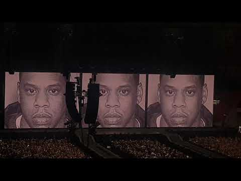 Jay Z & Beyonce - live in Amsterdam June 19, 2018 - Opening & Holy Grail