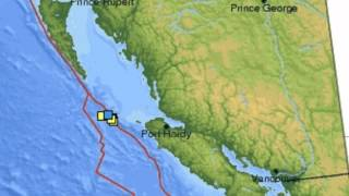 Another Earthquake Vancouver Island 4 May 2012