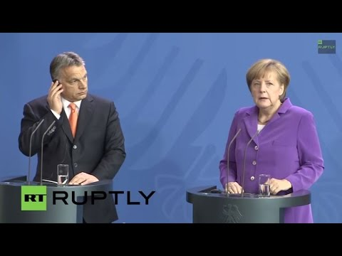 LIVE: Merkel and Orban meet in Budapest - Press conference