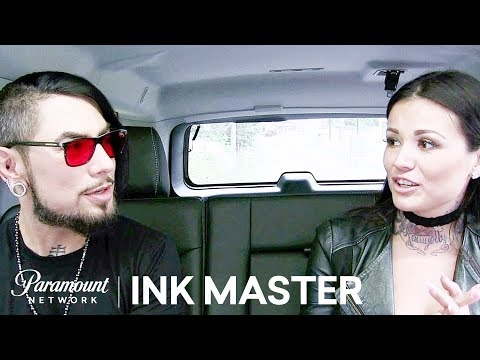 Tatu Baby Trying To Save A Life-Saver's Tattoo - Ink Master: Redemption, Season 3