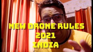 New Drone rules 2021 Passed by Government